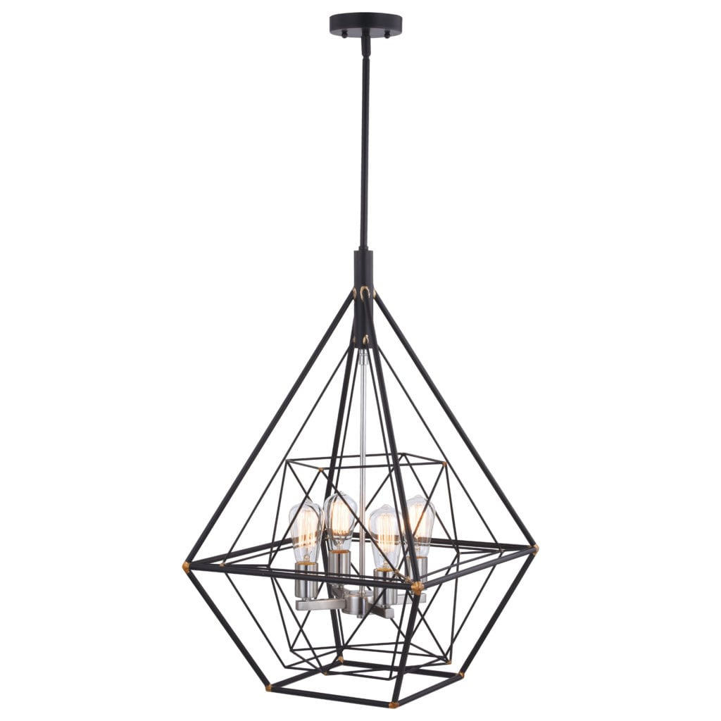Bartlett 24 In 4 Light Pendant Oil Rubbed Bronze With