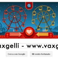Il Google Doodle di San Valentino