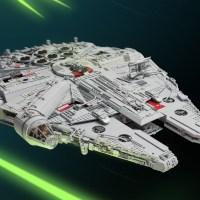 Marshal Banana ed il Millennium Falcon di Star Wars