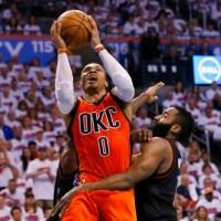 #NBA: cos'è il genio? Ce lo spiegano Adams e Westbrook.....