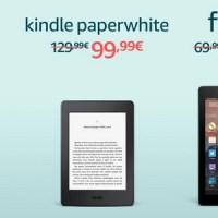 #Amazon #BlackFriday: Kindle Paperwhite e Fire in offerta
