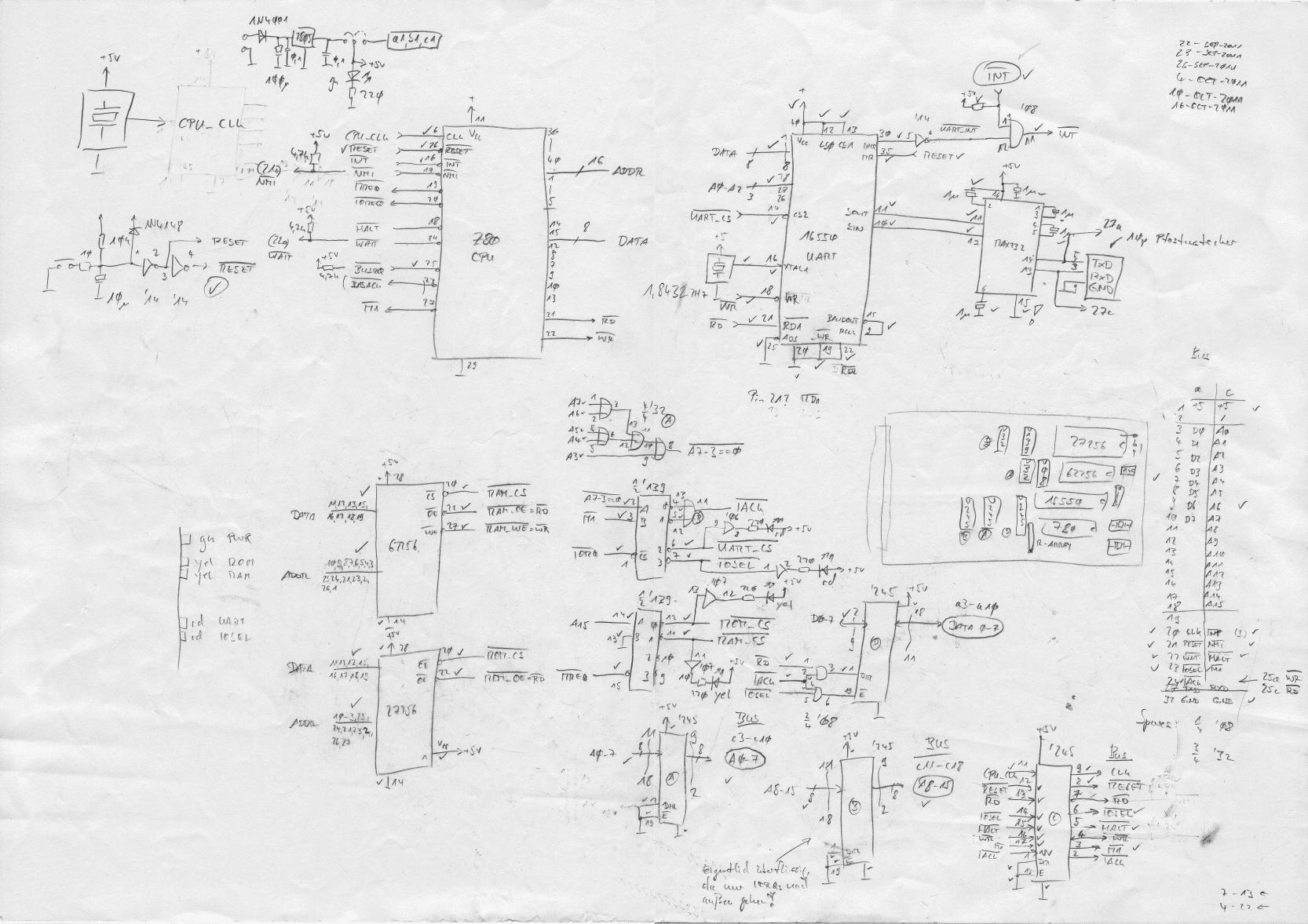 6502 Logic Diagram - Auto Electrical Wiring Diagram