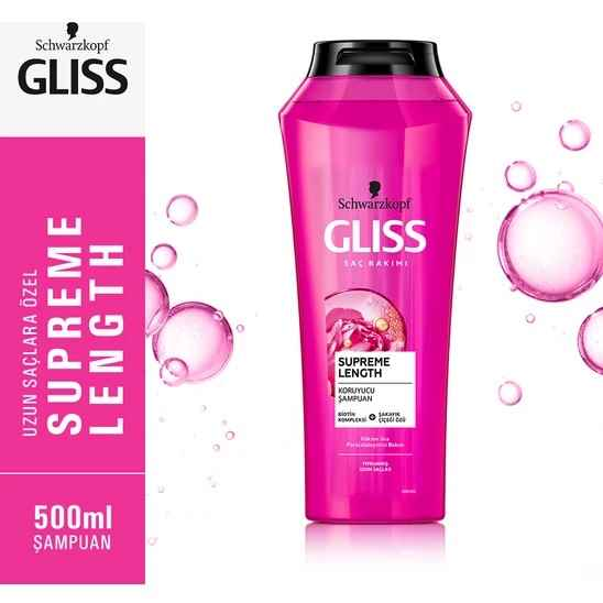 Gliss Supreme Length Şampuan 500 Ml