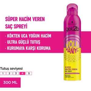 got2b Volumaniac Sprey 300 ml