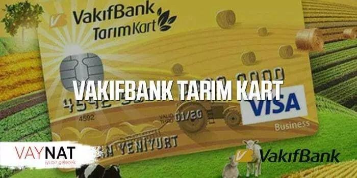 VakıfBank Tarım Kart