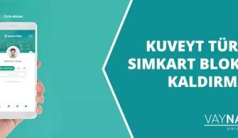 Kuveyt Türk Bankası Simkart Bloke Kaldırma