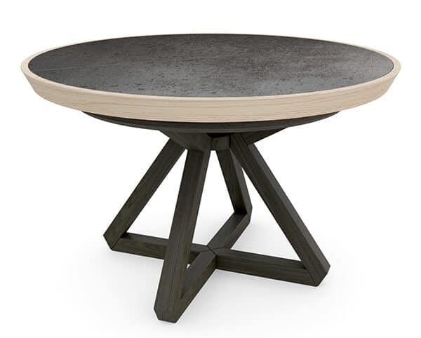table ronde ceramique rovato