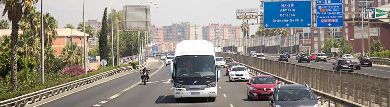 Autocares Vázquez Olmedo en carretera