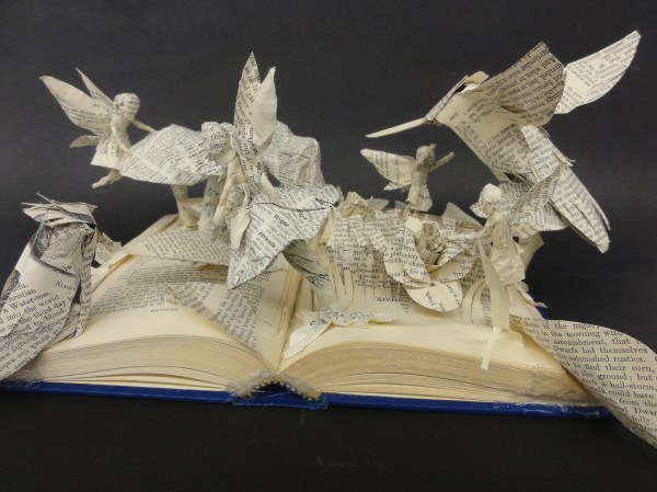 Bayside High Students Create Book Sculptures - Core