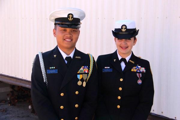 Pin Njrotc Uniform - Year of Clean Water