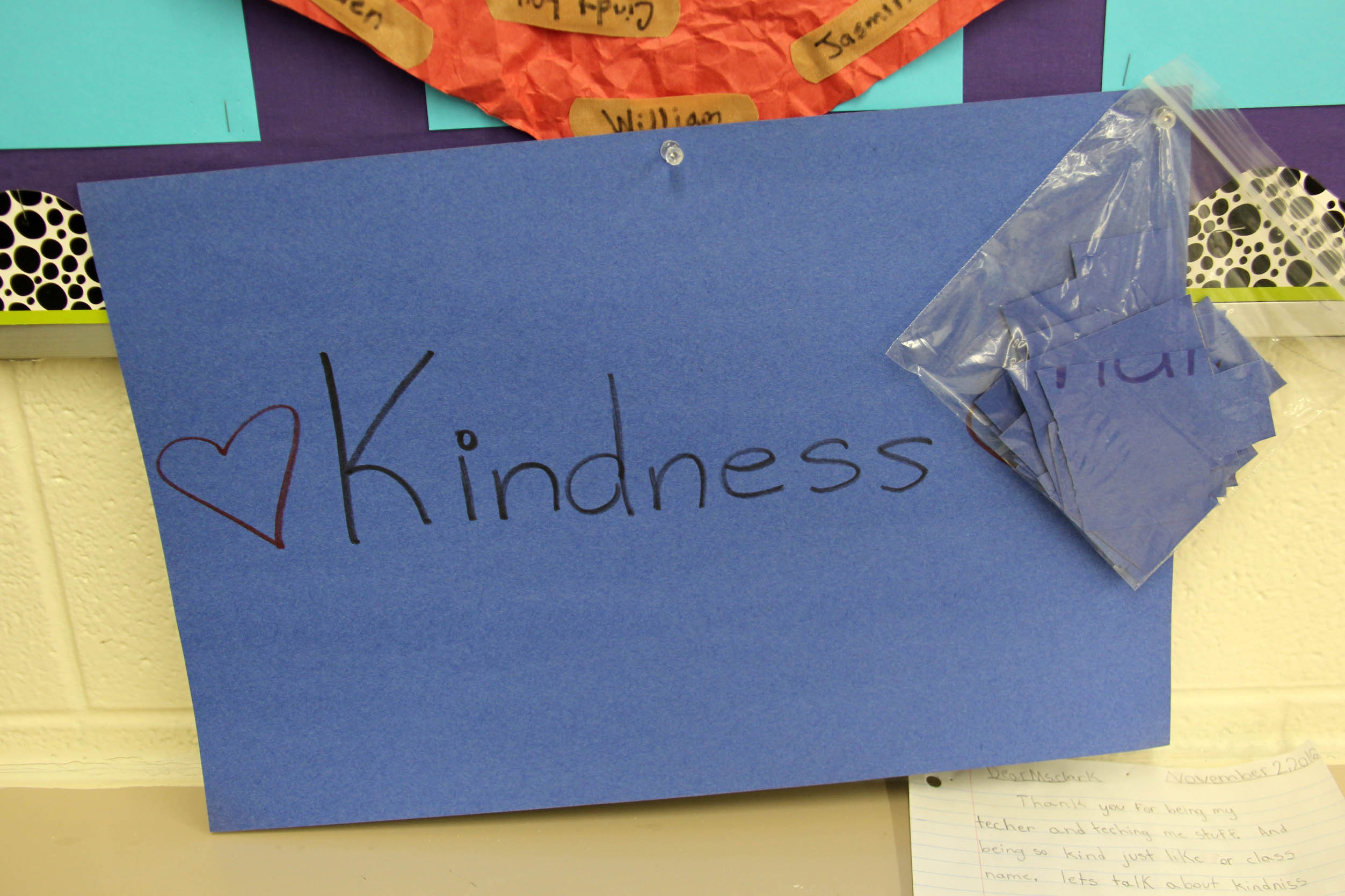 Rosemont Elementary Students Create Waves Of Kindness