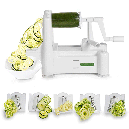 Spiralizer Tri-Blade Vegetable Slicer