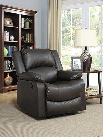 reclining armchairs living room beach house top 15 best leather recliner chairs 2019 reviews vbestreviews warren chair java