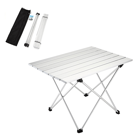 Yahill New Design Aluminum Collapsible Table with Carrying Bag