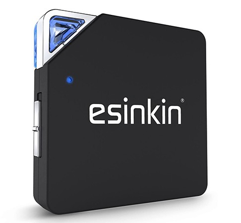 Esinkin Bluetooth 2 in 1 Transmitter Receiver