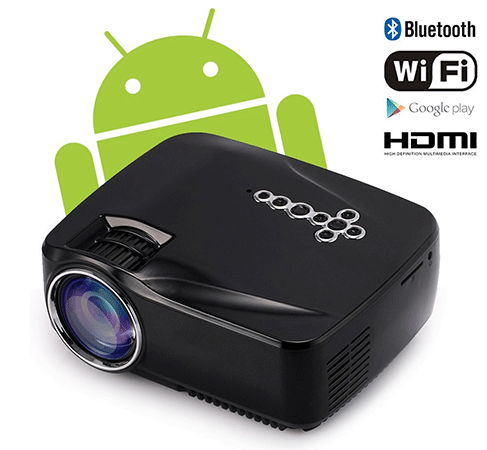 Oley Android Wifi Bluetooth Projector