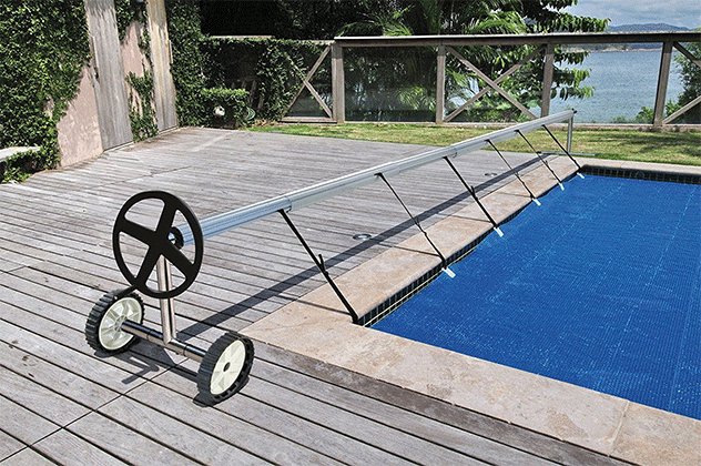 Kokido Stainless Steel Swimming Pool Cover Reel