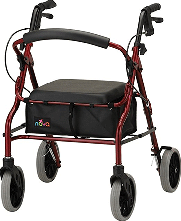 NOVA Medical Products 20 Zoom Rolling Walker