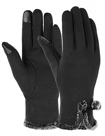 Dimore Womens Screen Touch Gloves