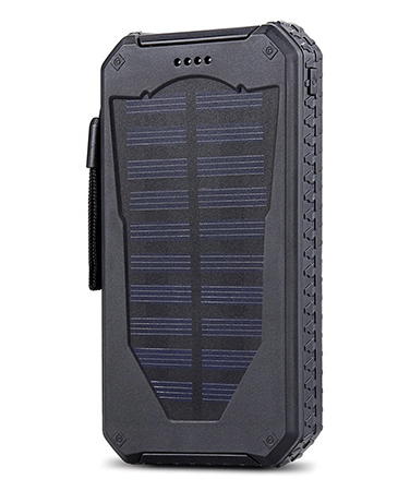 ToHLo 15000mAh Waterproof Dual USB Portable Solar Power Bank