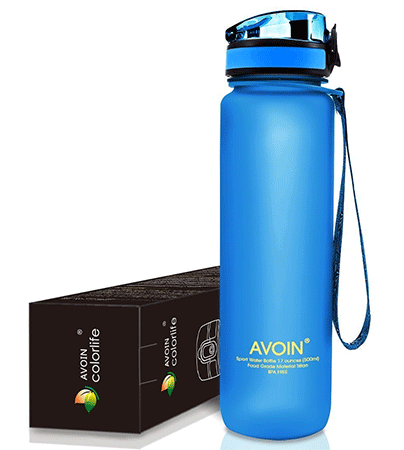 AVOIN colorlife 17oz & 32oz Sports Water Bottle