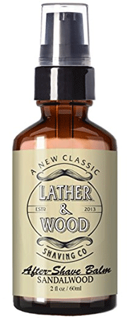 Lather & Wood Soothing After-Shave Balm