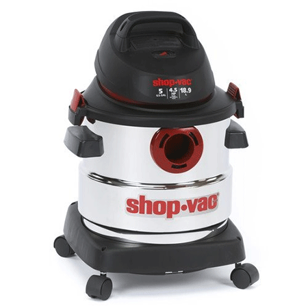 Shop-Vac 5986000 5 Gallon Stainless Steel Wet