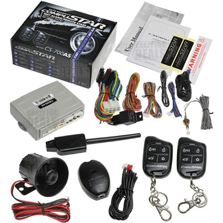 CompuSTAR cs700-AS Car Alarm