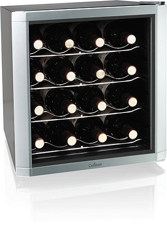 Culinair AW162S Thermoelectric 16-Bottle Wine Cooler
