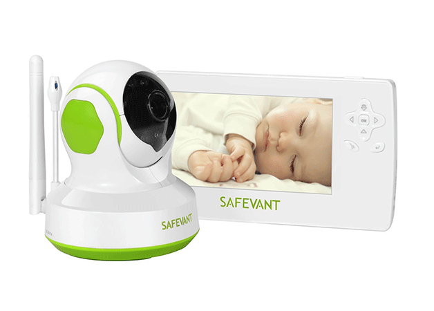 Safevant 4.3 Inch Wireless Digital Video Baby Monitor Camer