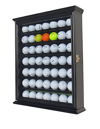 49 Golf Ball Display Case by DisplayGifts