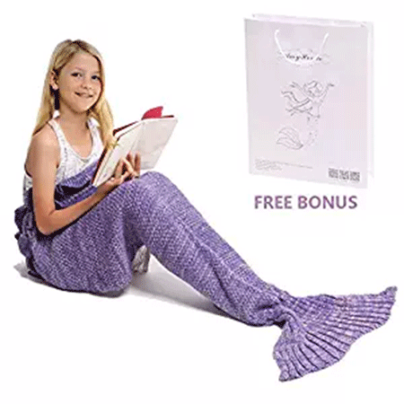 Mermaid Tail Blanket by AmyHomie