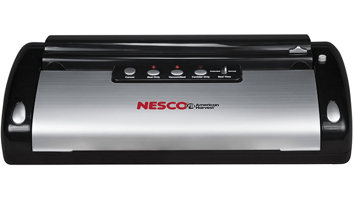 Nesco VS-02 Food Vacuum Sealing System with Bag Starter Kit