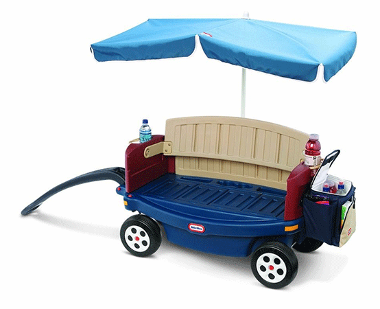 The Ride and Relax Wagon with Umbrella