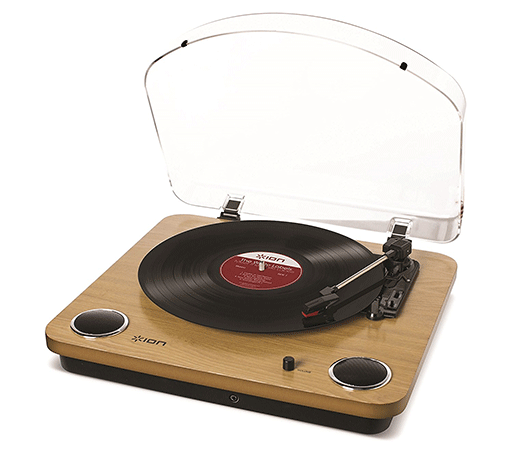 The 3-Speed Belt Drive Turntable by ION Audio