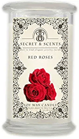 Elegant Jewelry in Soy Candle Secret and Scents Highly