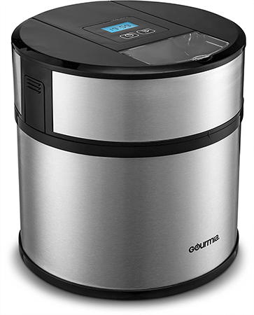 Gourmia GSI170 Automatic Ice Cream Maker Frozen Yogurt