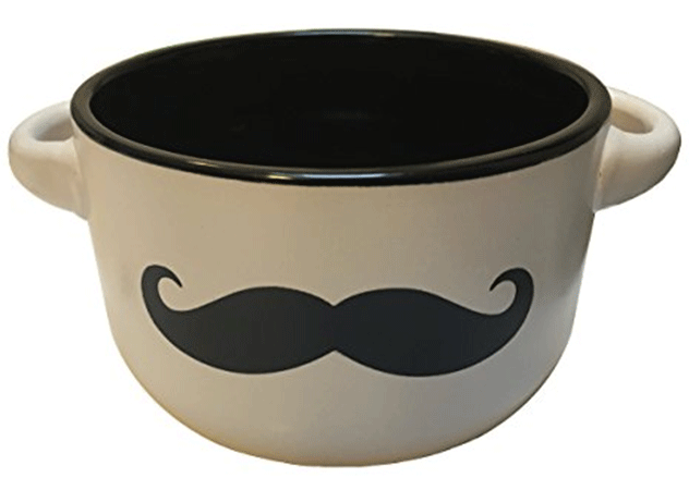 Shaving Mug with Mustache by Untold Goods