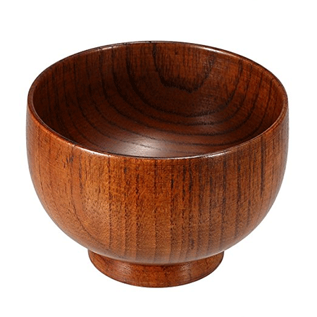 Anself Wooden Soap Bowl Shave Cream Cup Cleaning Mug