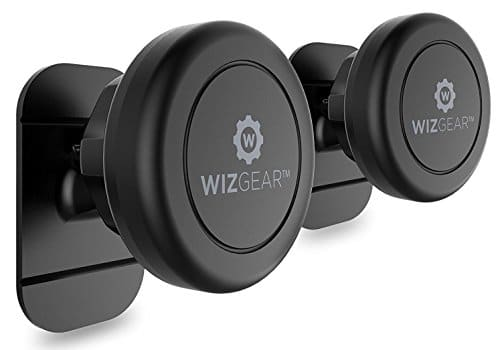 WizGear's (2 Pack) Universal Stick On Dashboard Magnetic Car Mount Holder