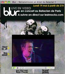 Blur Gigography 2003  Bataclan Paris France