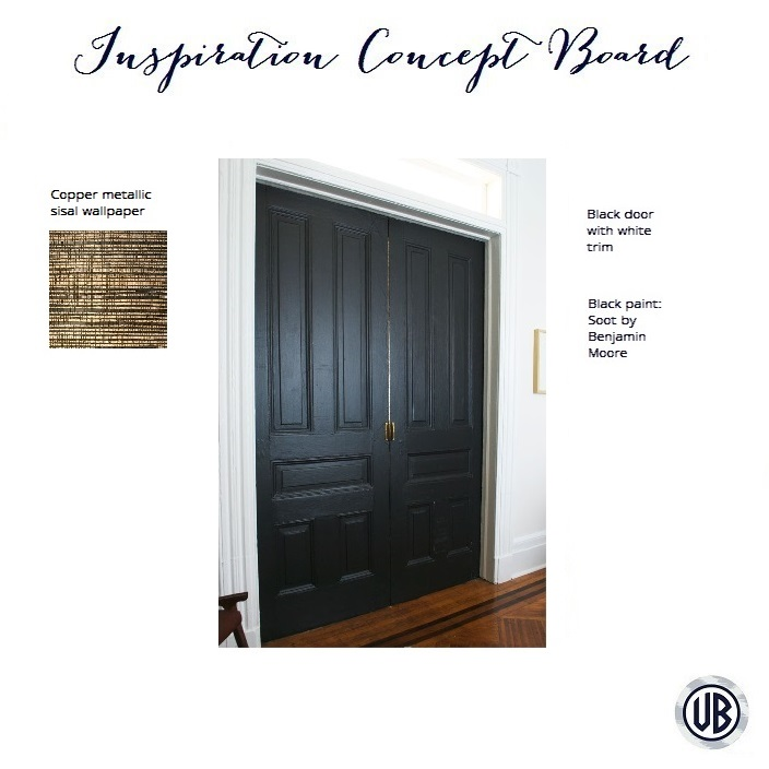 ... to paint their doors black and have white trim. Now they are looking very sleek and stylish. It was an easy update that really added drama to the space.  sc 1 st  Veronica Bradley Interiors & How a Door Can Make a Statement + LA House Update \u2014 Veronica Bradley ...