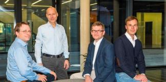 Die Partner von UVC Johannes von Borries, Dr. Ingo Potthof, Dr. Helmut Schönenberger und Andreas Unseld wollen mit Fonds II 70 Mio. EUR in Technologie-Start-ups investieren.