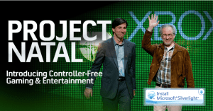 Project Natal, a revolutionary new way to play: no controller required.  See a ball? Kick it, hit it, trap it or catch it.