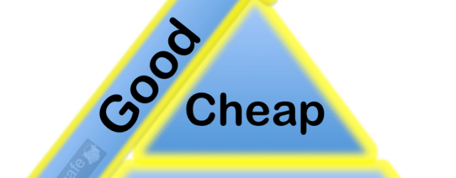 fail cheap fast good