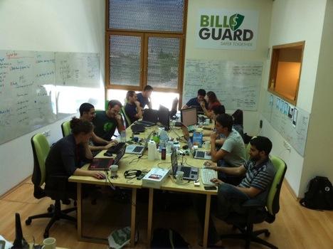 startup office of billguard vc cafe post