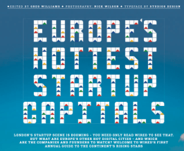 Top startups in Europe according to Wired magazine