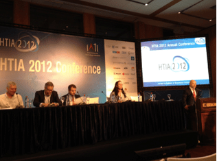 """Financing in Times of Uncertainty"" Roundtable Session, HTIA 2012 Conference by IATI"