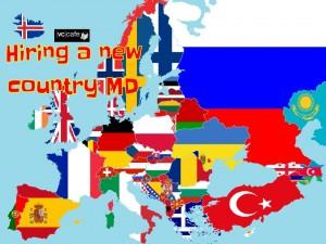 European startup flags International