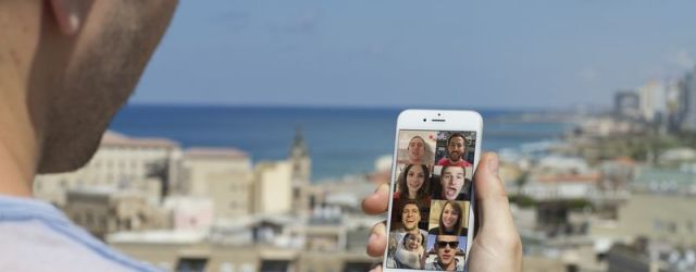 The Houseparty app lets offers group video with up to 8 friends